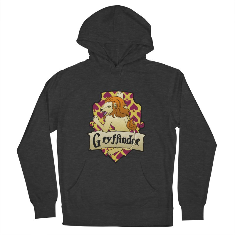 Courage House Crest Men's Pullover Hoody by ariesnamarie's Artist Shop