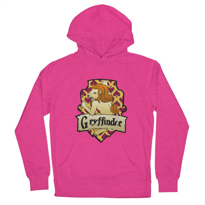 Courage House Crest Men's French Terry Pullover Hoody by ariesnamarie's Artist Shop