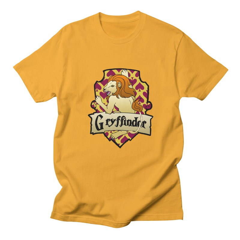 Courage House Crest Men's T-Shirt by ariesnamarie's Artist Shop
