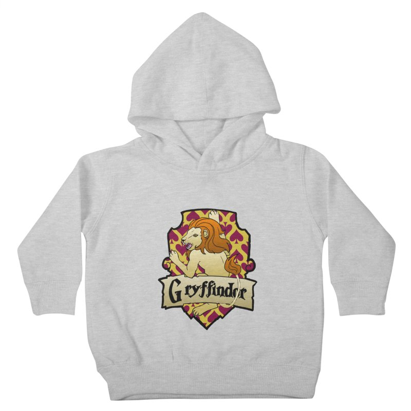 Courage House Crest Kids Toddler Pullover Hoody by ariesnamarie's Artist Shop