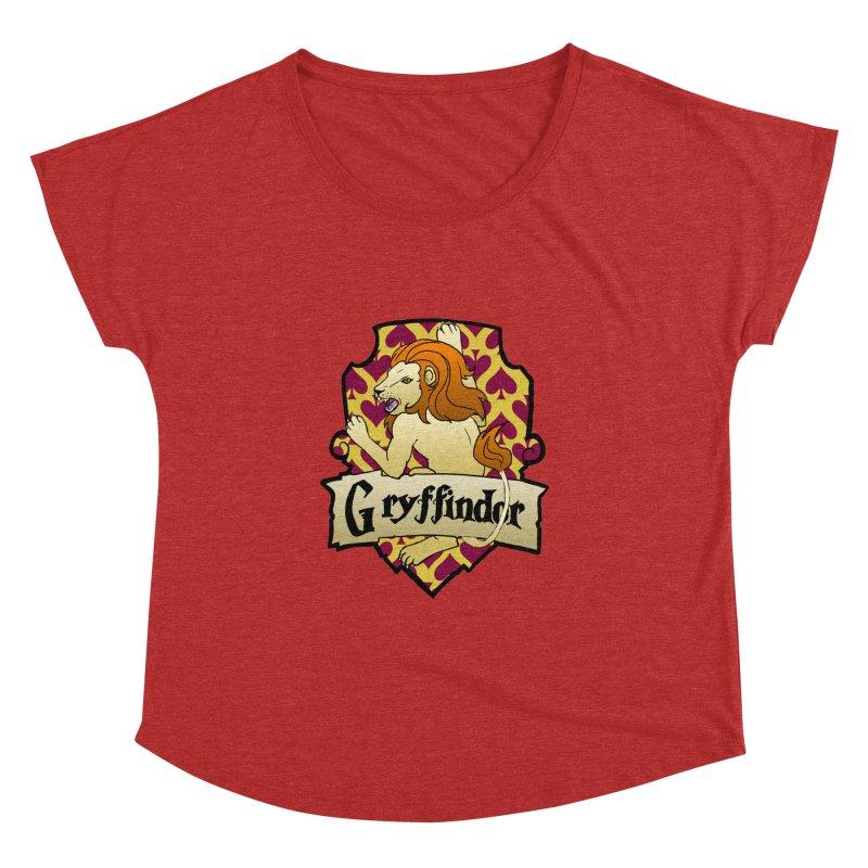 Courage House Crest Women's Dolman by ariesnamarie's Artist Shop