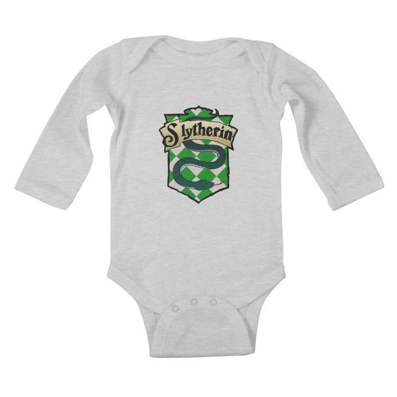 Ambition House Crest Kids Baby Longsleeve Bodysuit by ariesnamarie's Artist Shop