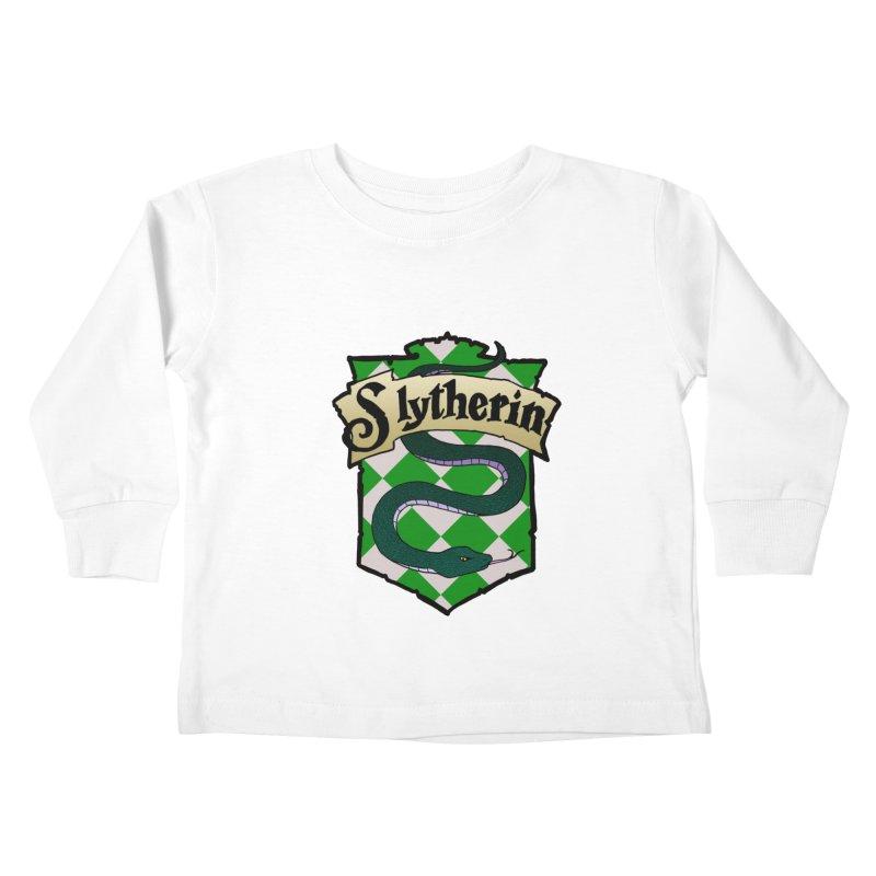 Ambition House Crest Kids Toddler Longsleeve T-Shirt by ariesnamarie's Artist Shop