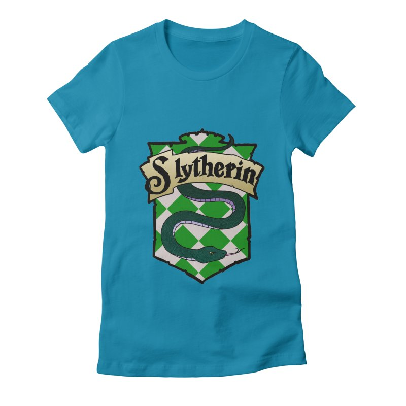 Ambition House Crest Women's Fitted T-Shirt by ariesnamarie's Artist Shop
