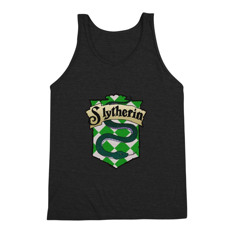 Ambition House Crest Men's Triblend Tank by ariesnamarie's Artist Shop