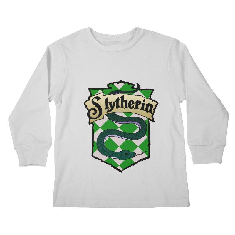Ambition House Crest Kids Longsleeve T-Shirt by ariesnamarie's Artist Shop