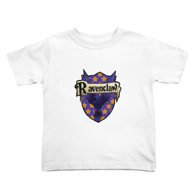 Wit House Crest Kids Toddler T-Shirt by ariesnamarie's Artist Shop