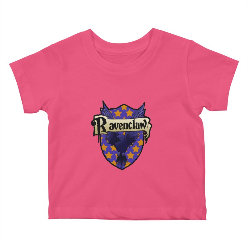 Wit House Crest Kids Baby T-Shirt by ariesnamarie's Artist Shop