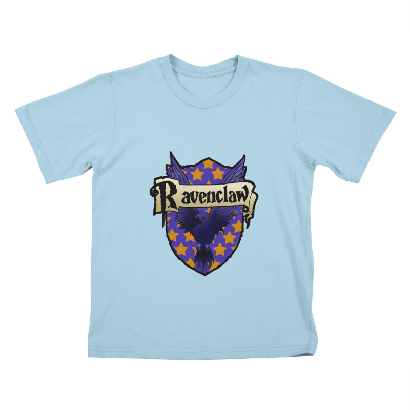 Wit House Crest Kids T-Shirt by ariesnamarie's Artist Shop