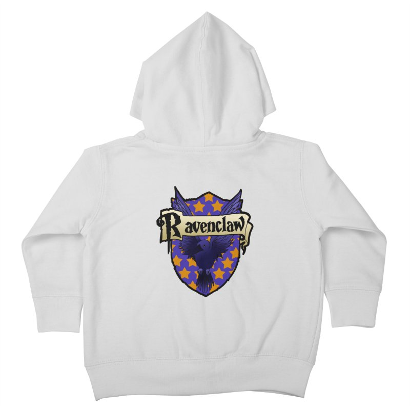 Wit House Crest Kids Toddler Zip-Up Hoody by ariesnamarie's Artist Shop