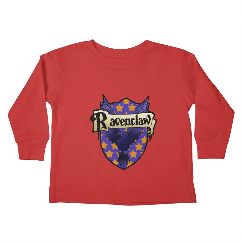 Wit House Crest Kids Toddler Longsleeve T-Shirt by ariesnamarie's Artist Shop