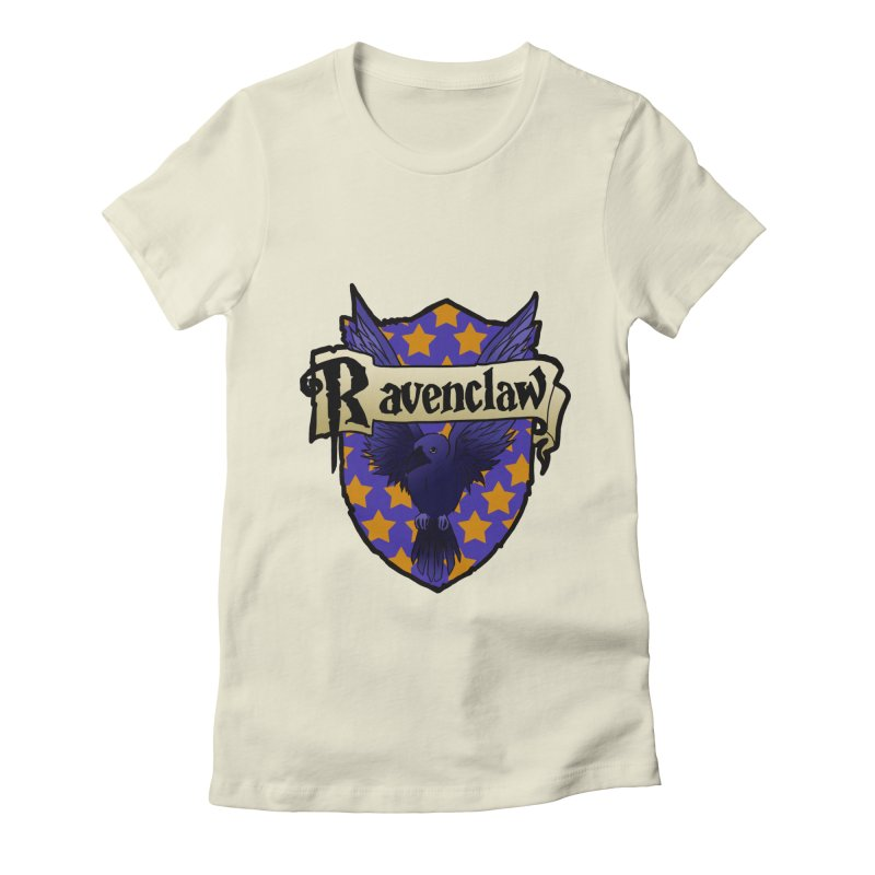 Wit House Crest Women's Fitted T-Shirt by ariesnamarie's Artist Shop