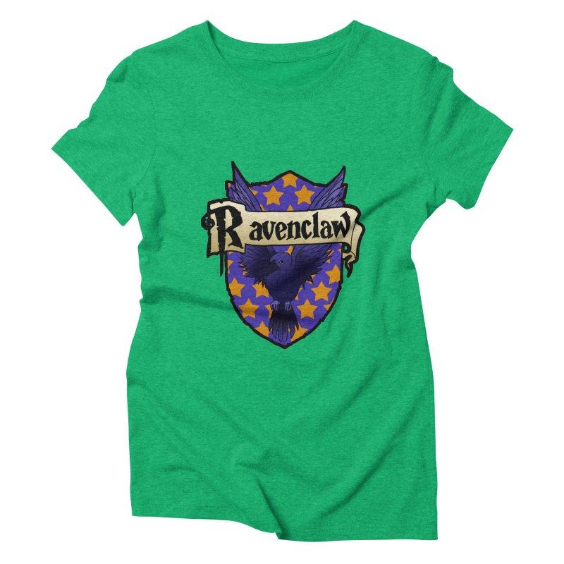 Wit House Crest Women's Triblend T-Shirt by ariesnamarie's Artist Shop