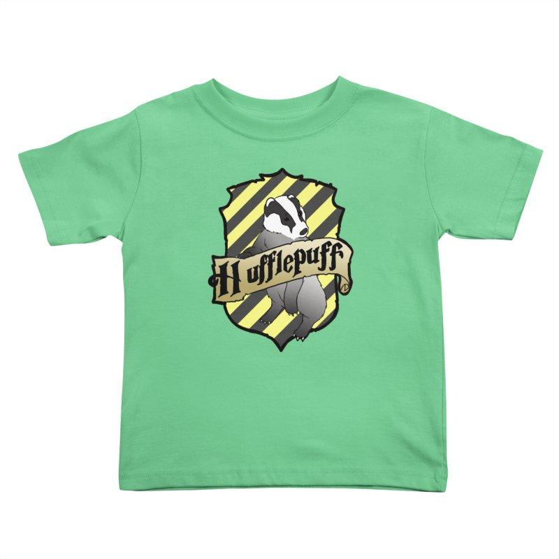 Loyalty House Crest Kids Toddler T-Shirt by ariesnamarie's Artist Shop