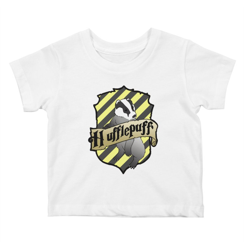Loyalty House Crest Kids Baby T-Shirt by ariesnamarie's Artist Shop