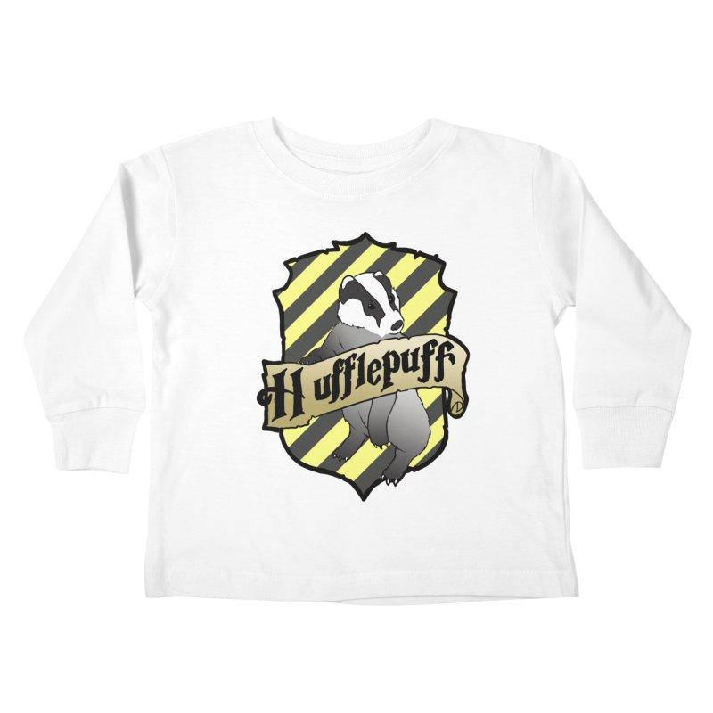 Loyalty House Crest Kids Toddler Longsleeve T-Shirt by ariesnamarie's Artist Shop