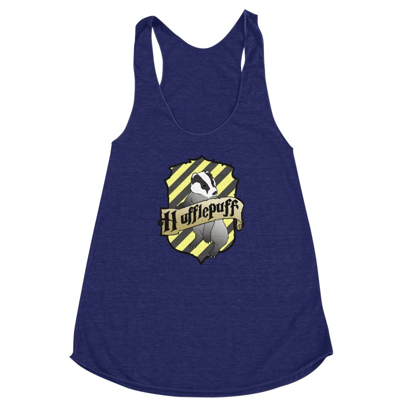 Loyalty House Crest Women's Racerback Triblend Tank by ariesnamarie's Artist Shop