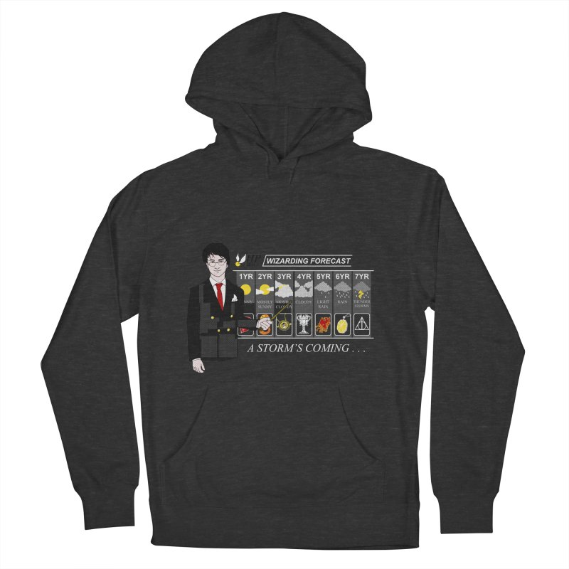 A Storm's Coming Women's French Terry Pullover Hoody by ariesnamarie's Artist Shop