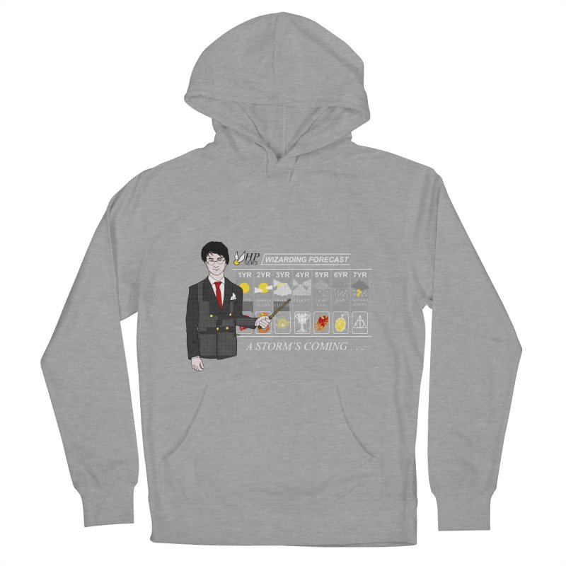 A Storm's Coming Men's French Terry Pullover Hoody by ariesnamarie's Artist Shop