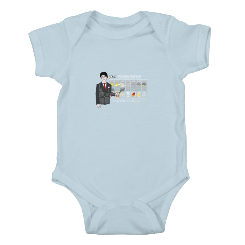 A Storm's Coming Kids Baby Bodysuit by ariesnamarie's Artist Shop
