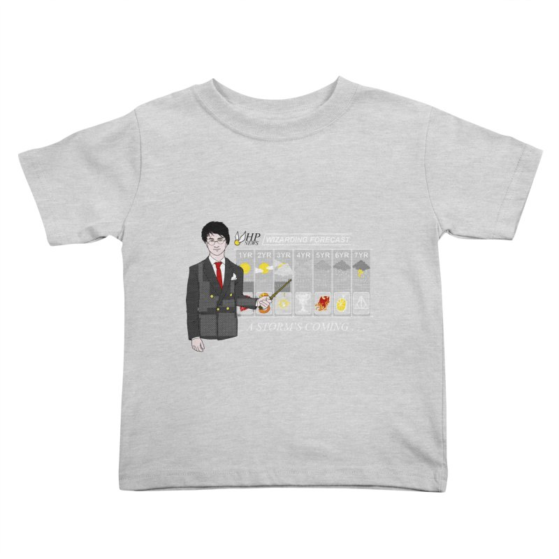 A Storm's Coming Kids Toddler T-Shirt by ariesnamarie's Artist Shop