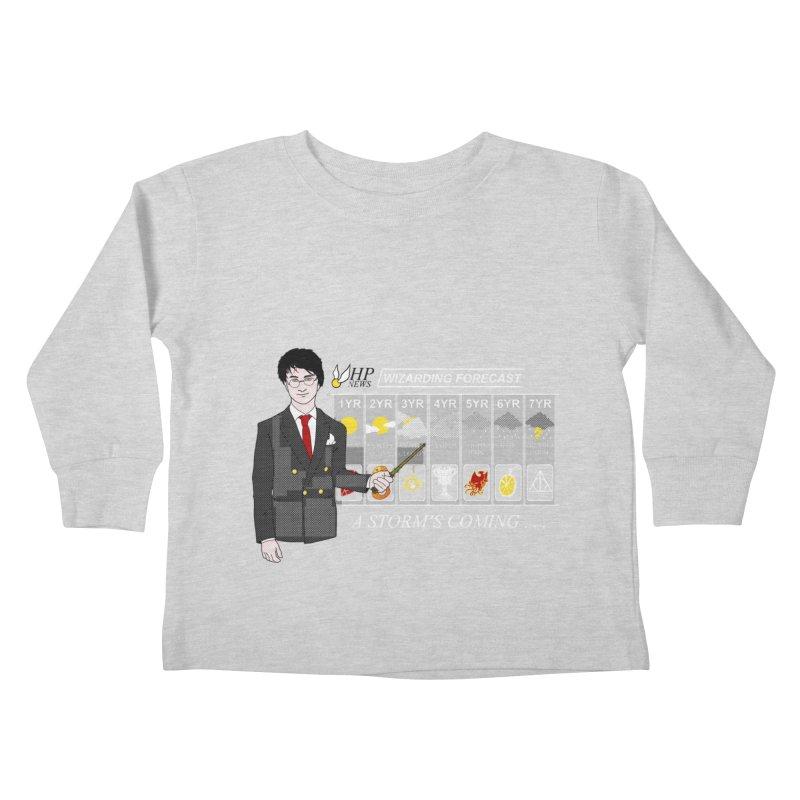 A Storm's Coming Kids Toddler Longsleeve T-Shirt by ariesnamarie's Artist Shop