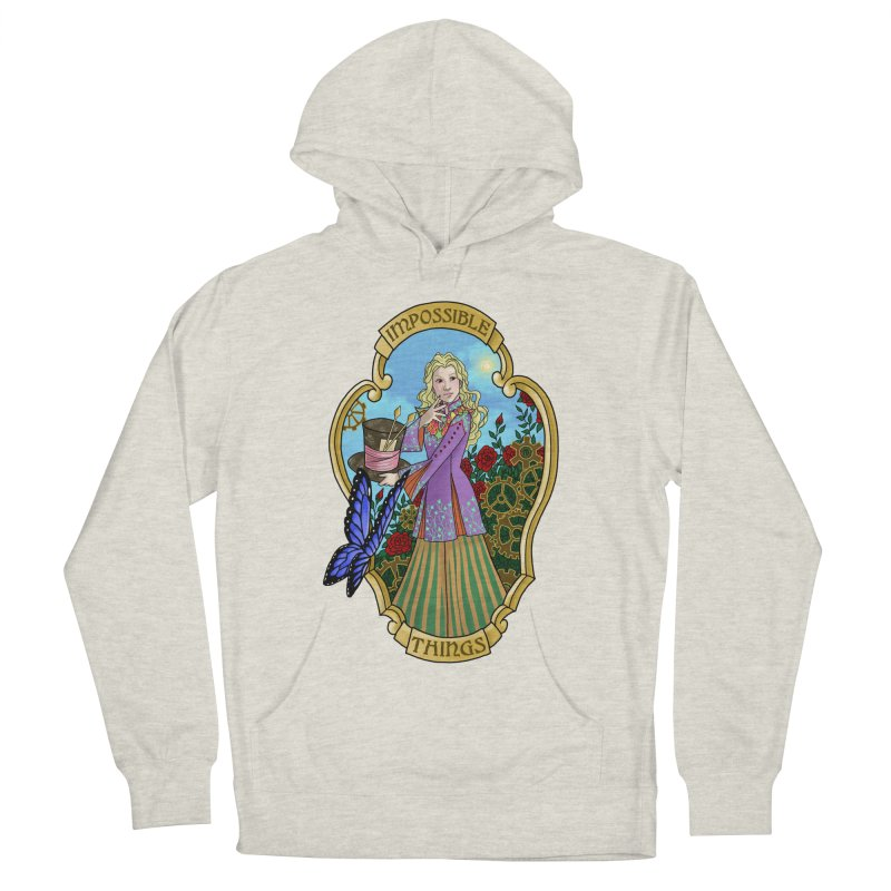 Impossible Things Women's Pullover Hoody by ariesnamarie's Artist Shop
