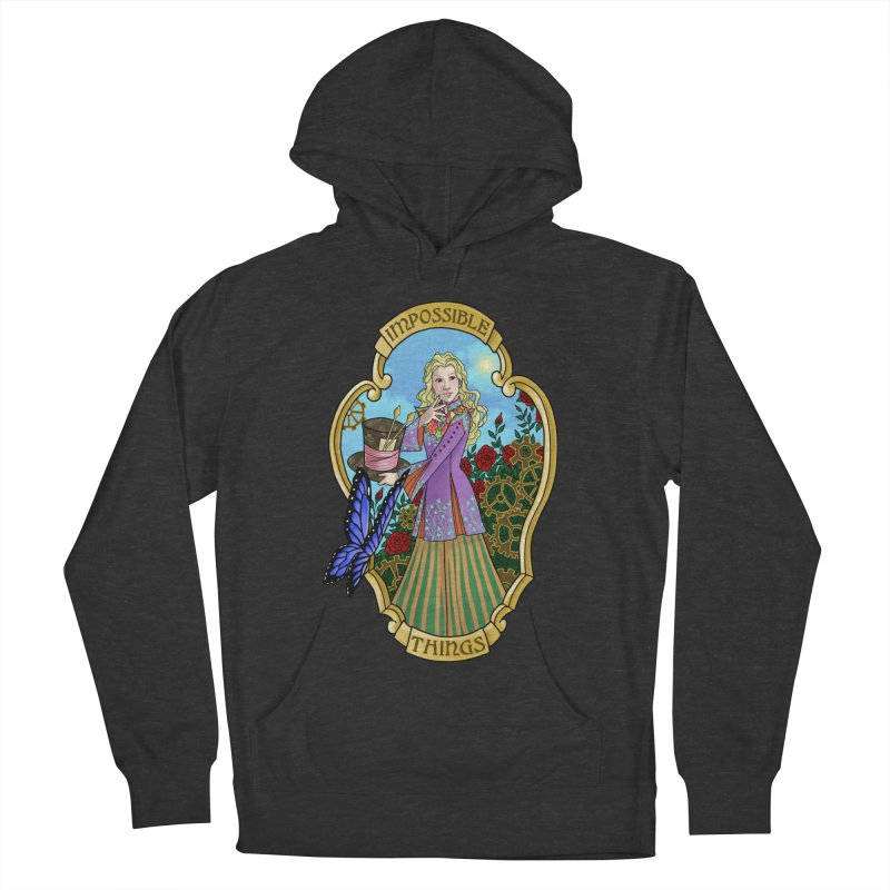 Impossible Things Men's Pullover Hoody by ariesnamarie's Artist Shop