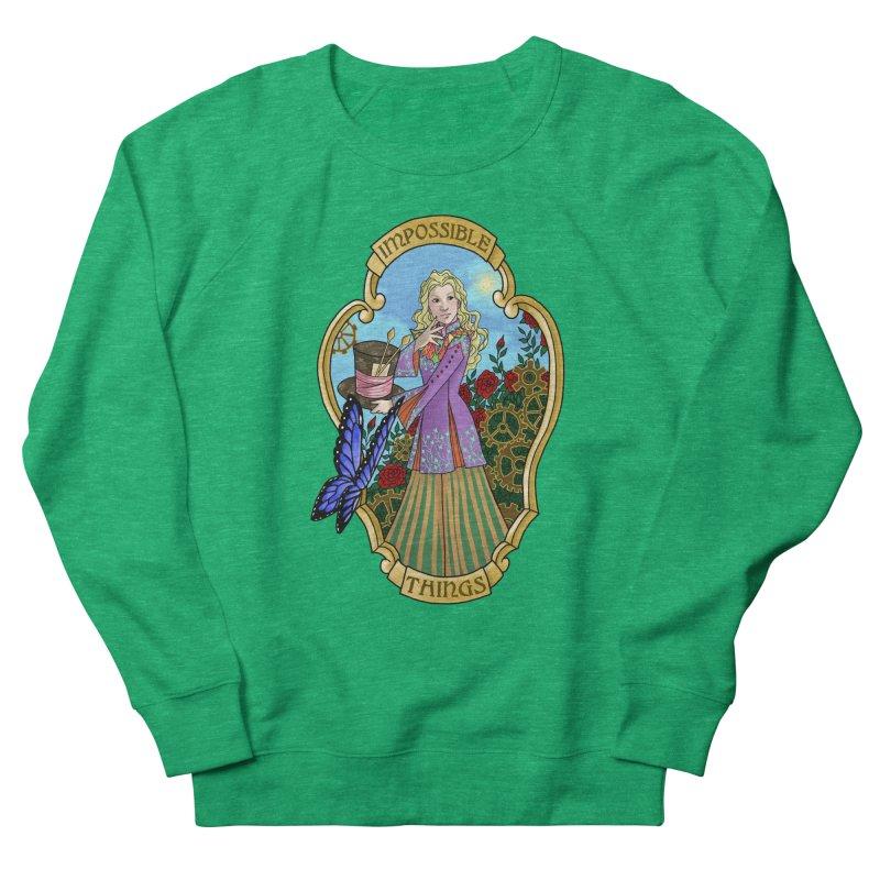 Impossible Things Women's Sweatshirt by ariesnamarie's Artist Shop
