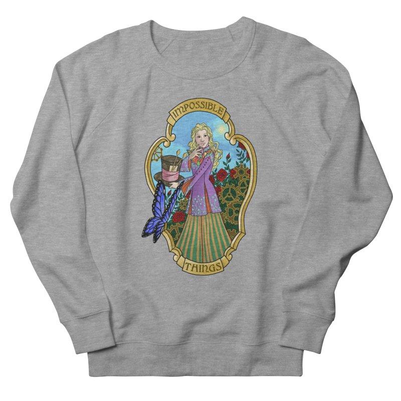 Impossible Things Men's Sweatshirt by ariesnamarie's Artist Shop
