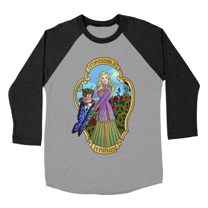 Impossible Things Men's Baseball Triblend Longsleeve T-Shirt by ariesnamarie's Artist Shop