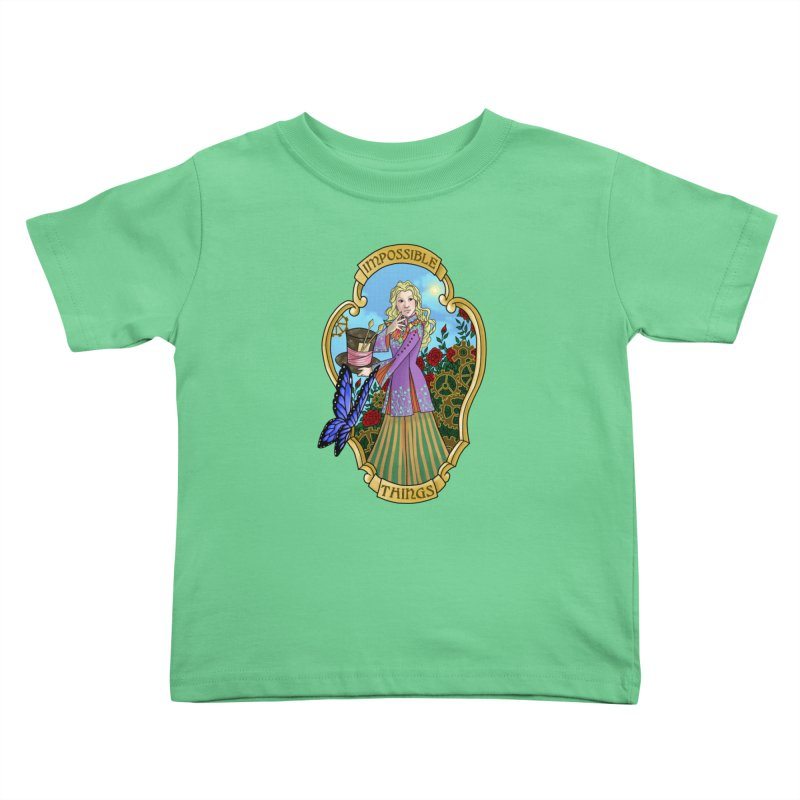 Impossible Things Kids Toddler T-Shirt by ariesnamarie's Artist Shop