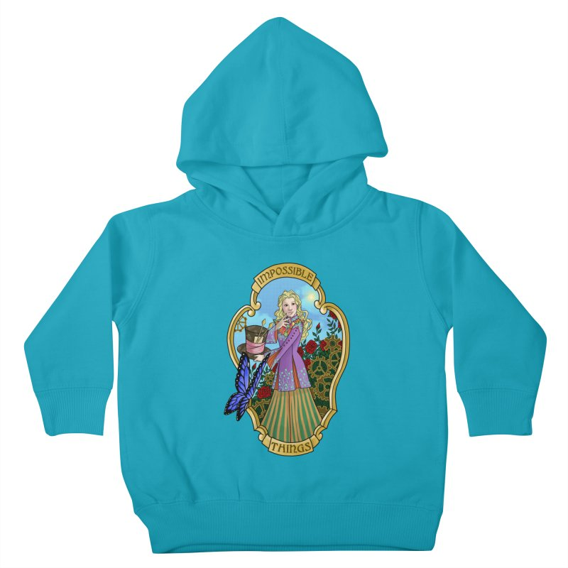 Impossible Things Kids Toddler Pullover Hoody by ariesnamarie's Artist Shop