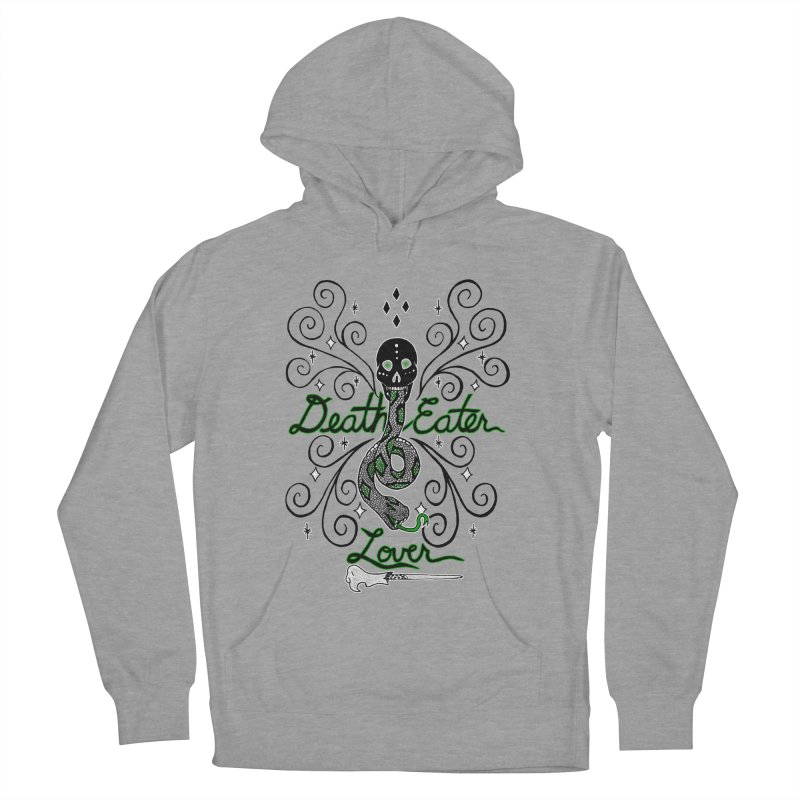 Death Eater Lover Men's French Terry Pullover Hoody by ariesnamarie's Artist Shop