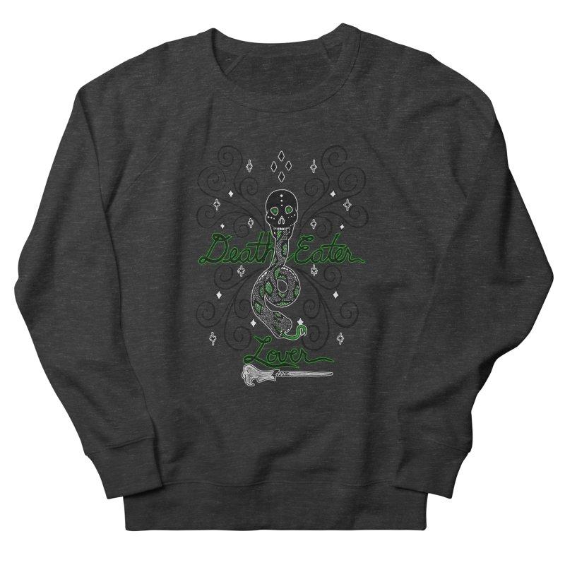 Death Eater Lover Women's French Terry Sweatshirt by ariesnamarie's Artist Shop