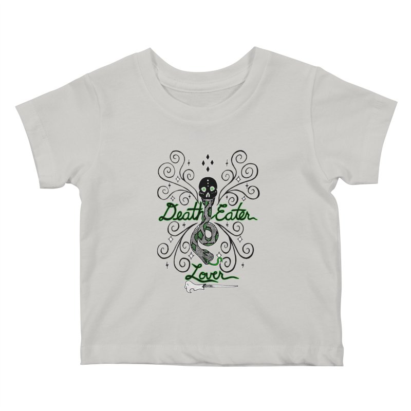Death Eater Lover Kids Baby T-Shirt by ariesnamarie's Artist Shop