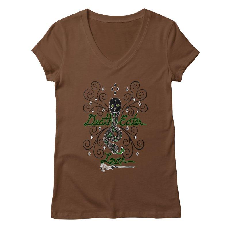Death Eater Lover Women's V-Neck by ariesnamarie's Artist Shop