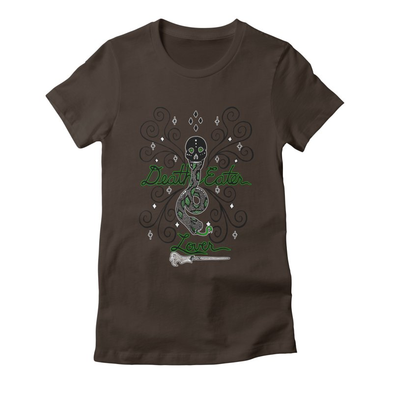 Death Eater Lover Women's Fitted T-Shirt by ariesnamarie's Artist Shop