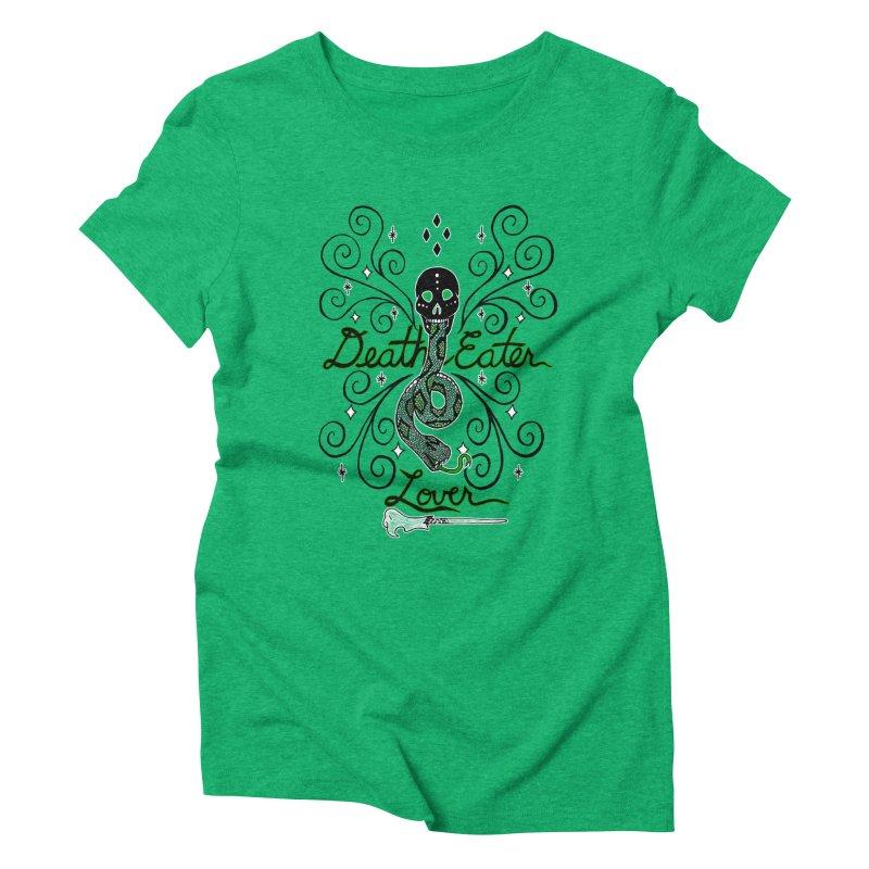 Death Eater Lover Women's Triblend T-Shirt by ariesnamarie's Artist Shop