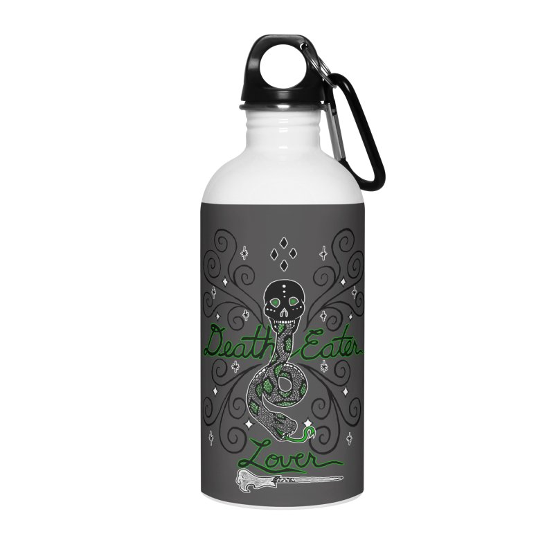 Death Eater Lover Accessories Water Bottle by ariesnamarie's Artist Shop