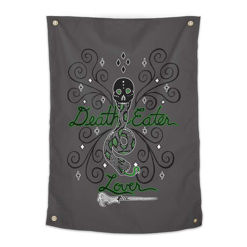 Death Eater Lover Home Tapestry by ariesnamarie's Artist Shop