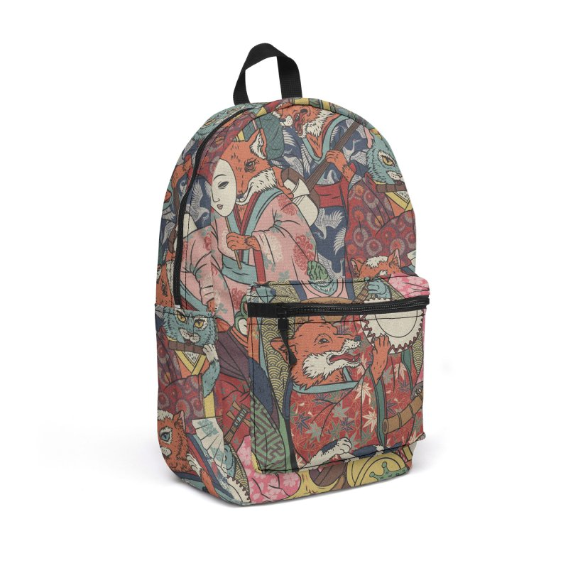 Night parade Accessories Backpack Bag by arisuber's Artist Shop