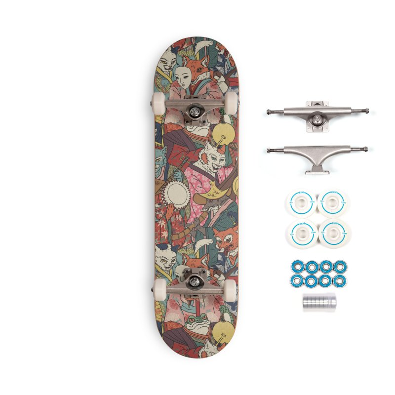 Night parade Accessories Complete - Basic Skateboard by arisuber's Artist Shop
