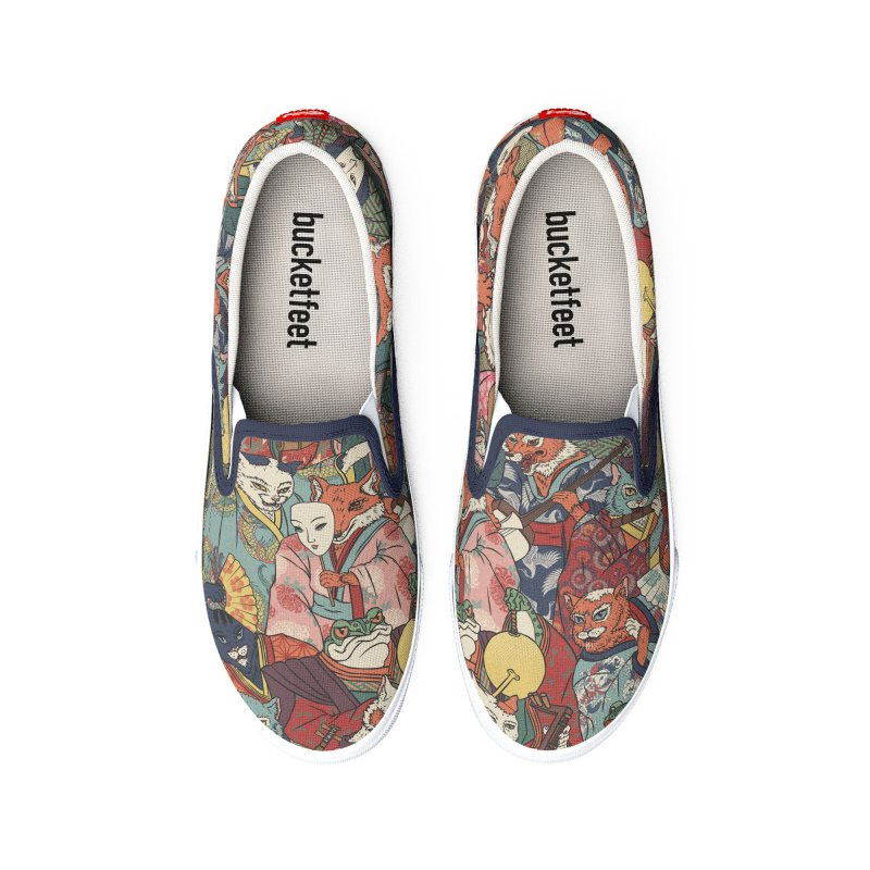Night parade Men's Shoes by arisuber's Artist Shop
