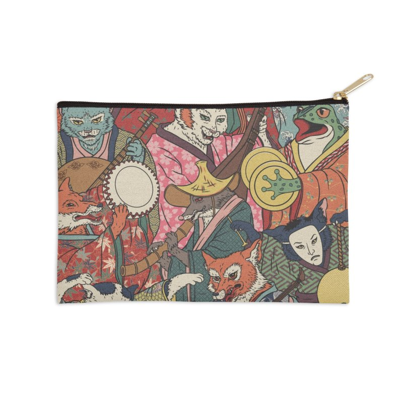 Night parade Accessories Zip Pouch by arisuber's Artist Shop