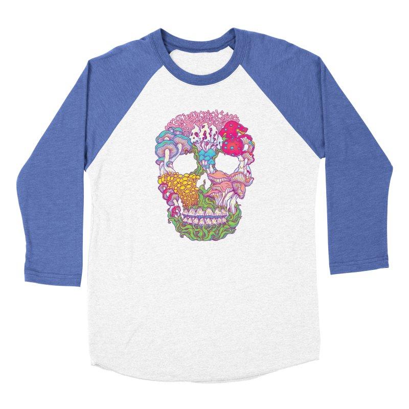 Mushrooms Women's Baseball Triblend Longsleeve T-Shirt by arisuber's Artist Shop