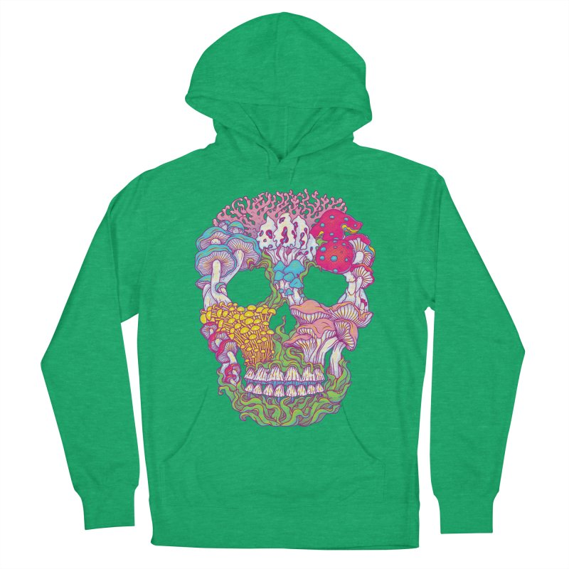 Mushrooms Women's French Terry Pullover Hoody by arisuber's Artist Shop