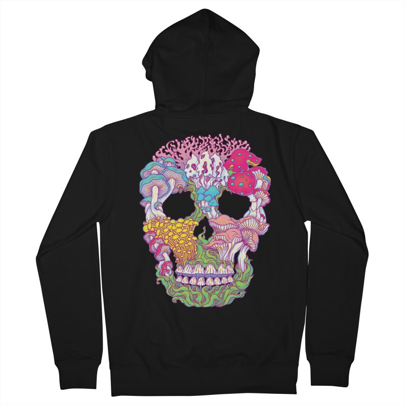 Mushrooms Women's Zip-Up Hoody by arisuber's Artist Shop