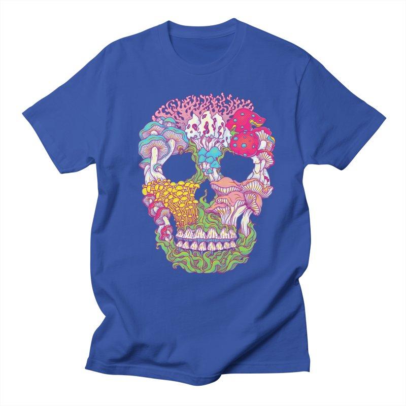 Mushrooms Men's Regular T-Shirt by arisuber's Artist Shop