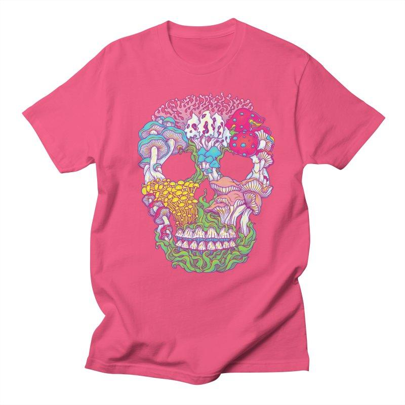 Mushrooms Men's T-shirt by arisuber's Artist Shop